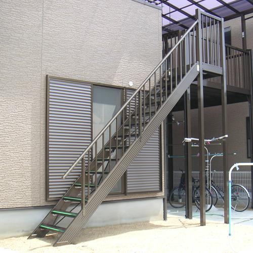 アルミフリー階段|ステフリー