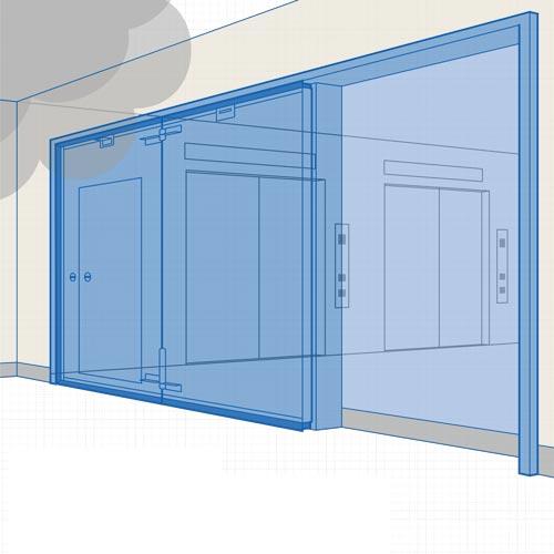 遮煙SD開き戸・折れ戸|SDS-TSシリーズ